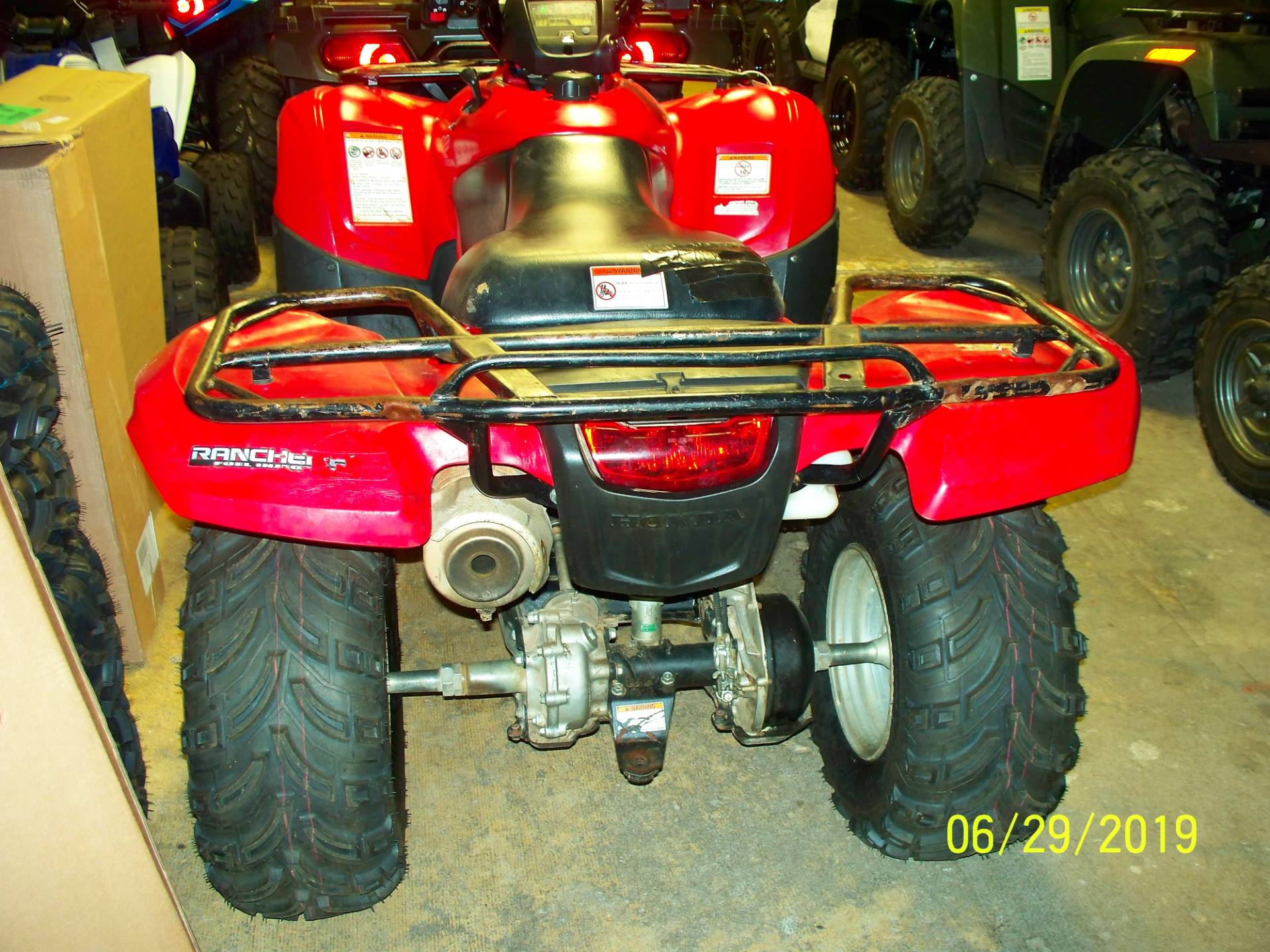 2013 Honda FourTrax® Rancher® 4x4 ES with EPS in Sterling, Illinois - Photo 3