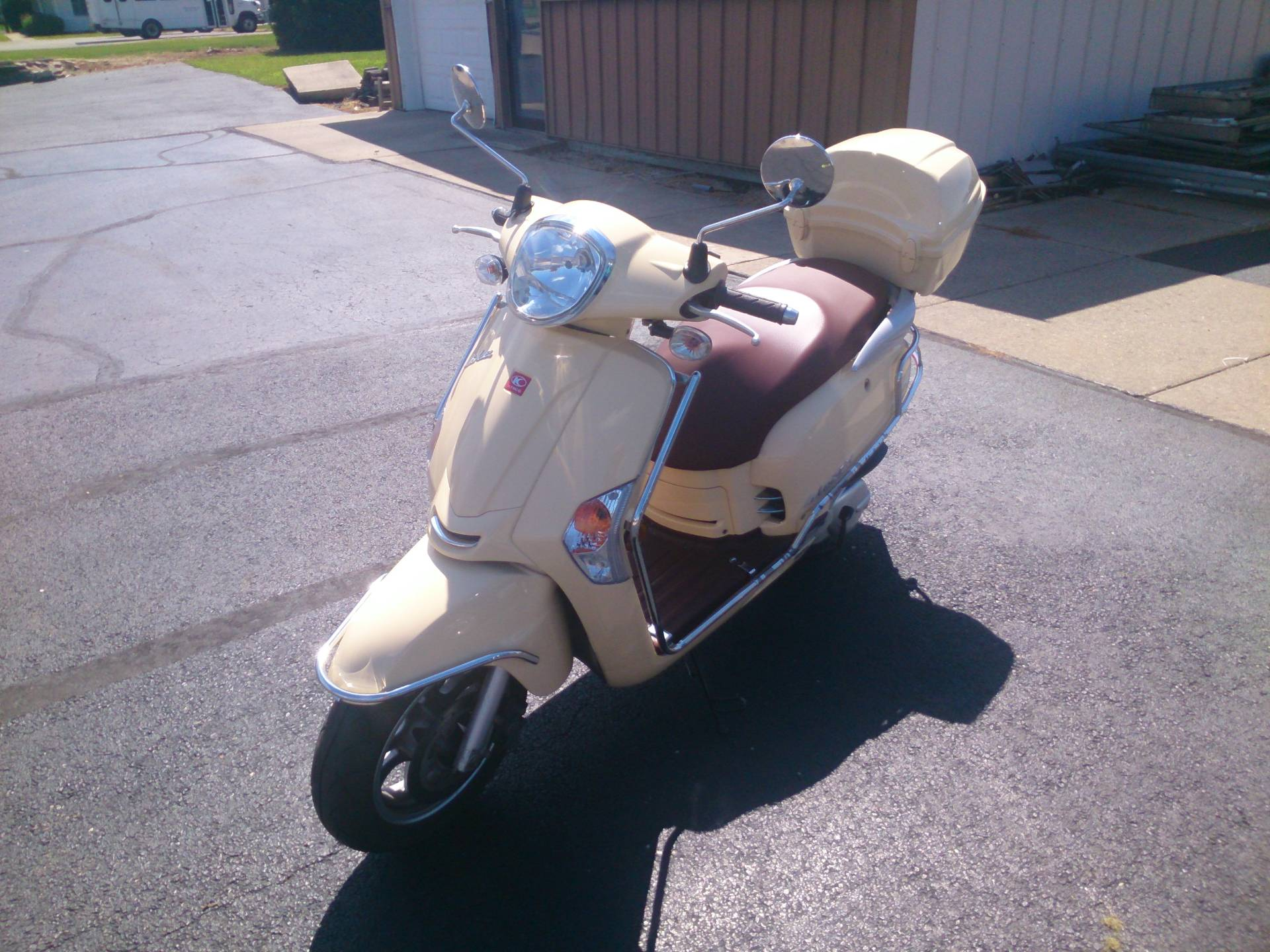 2014 Kymco Like 200i in Sterling, Illinois