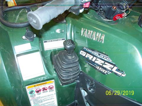2011 YAMAHA YFM 450 GRIZZLY in Sterling, Illinois - Photo 4