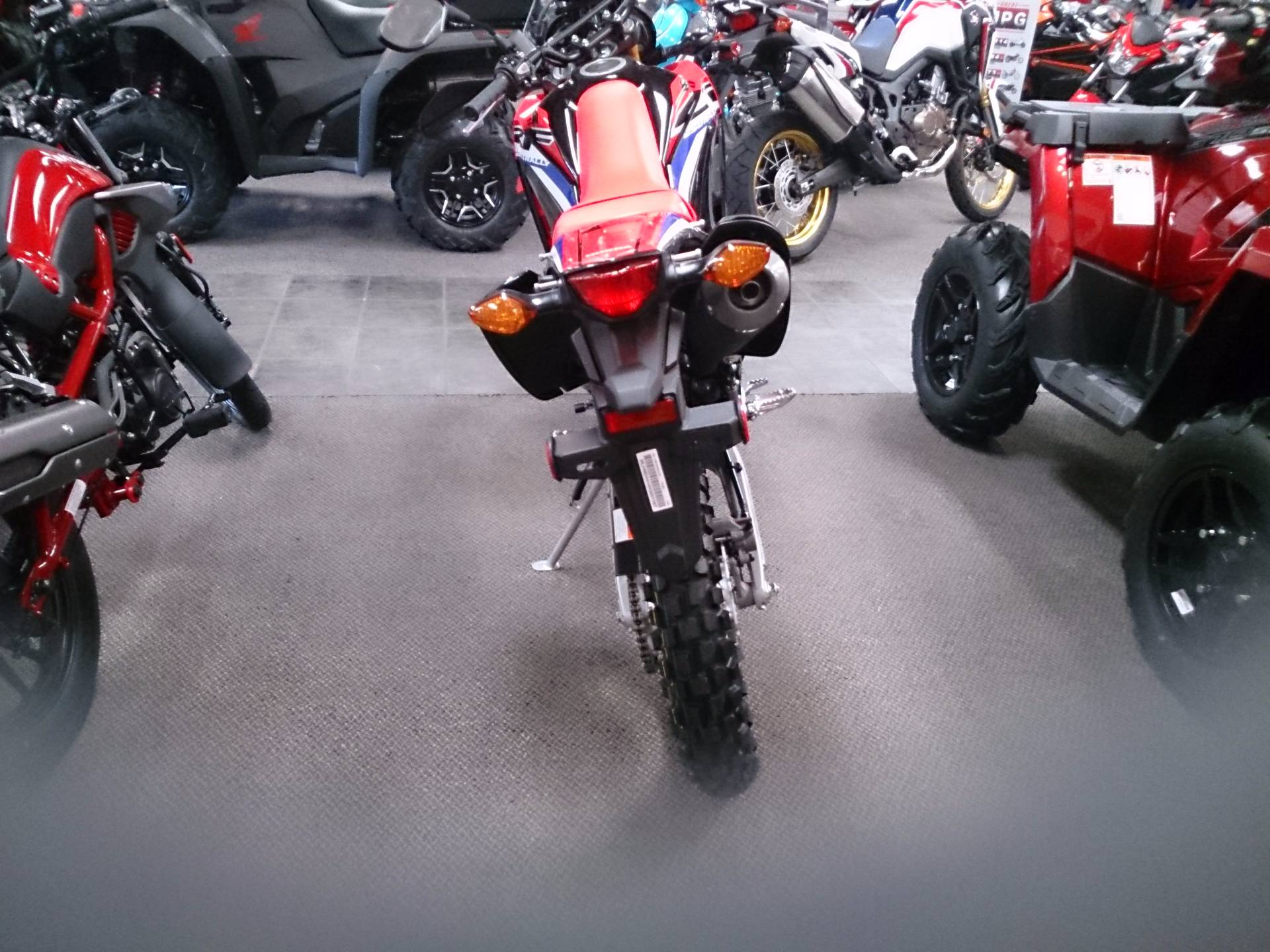 2017 Honda CRF250L Rally in Sterling, Illinois