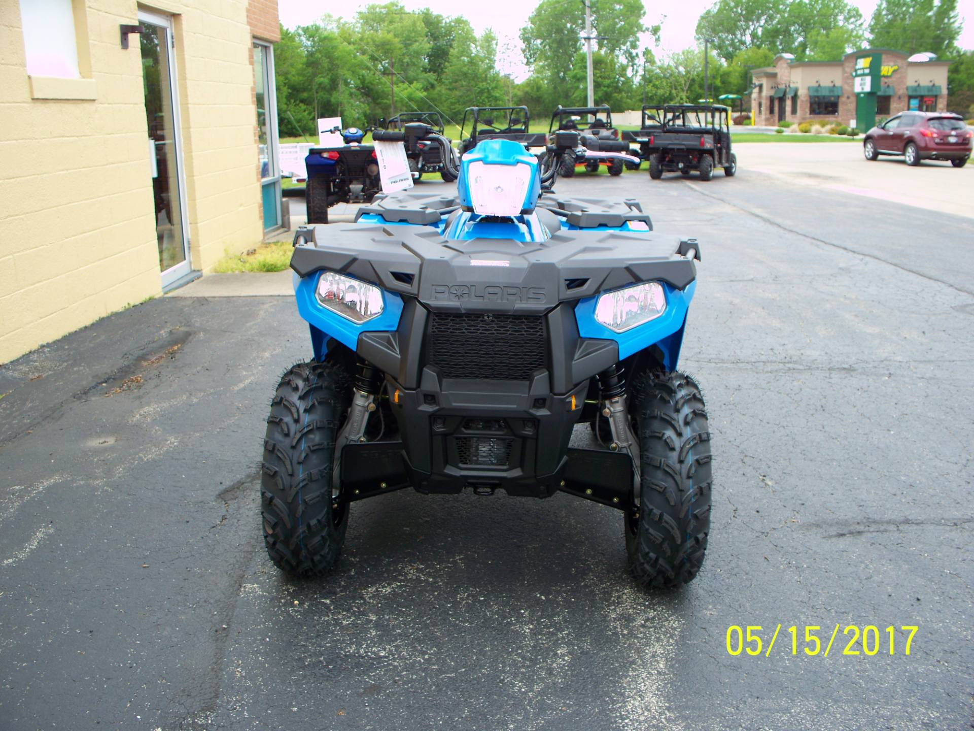 2017 Polaris Sportsman 450 H.O. in Sterling, Illinois