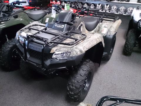 2018 Honda FourTrax Rancher 4x4 ES in Sterling, Illinois