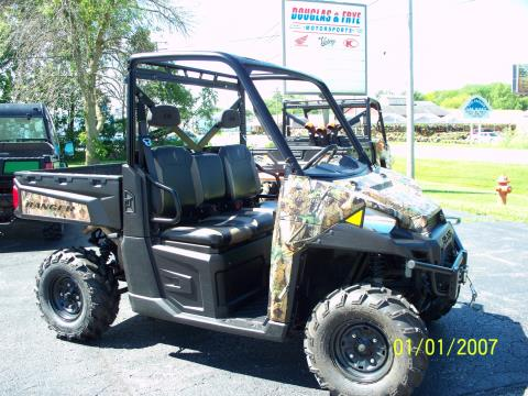 2013 Polaris Ranger XP® 900 EPS Browning® LE in Sterling, Illinois