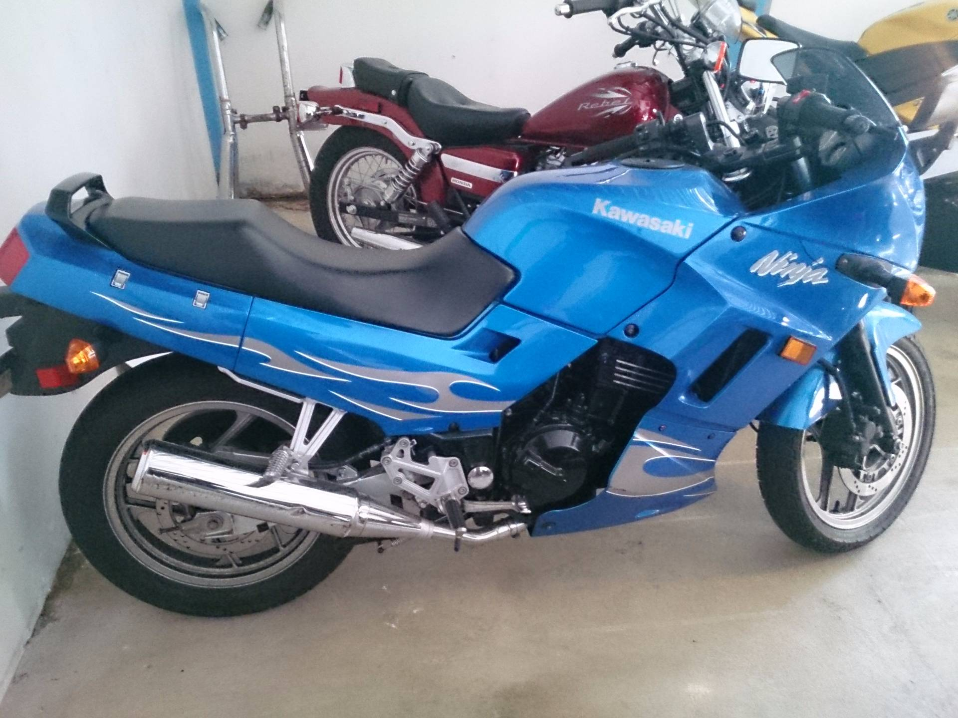 2007 Kawasaki Ninja® 250R in Sterling, Illinois