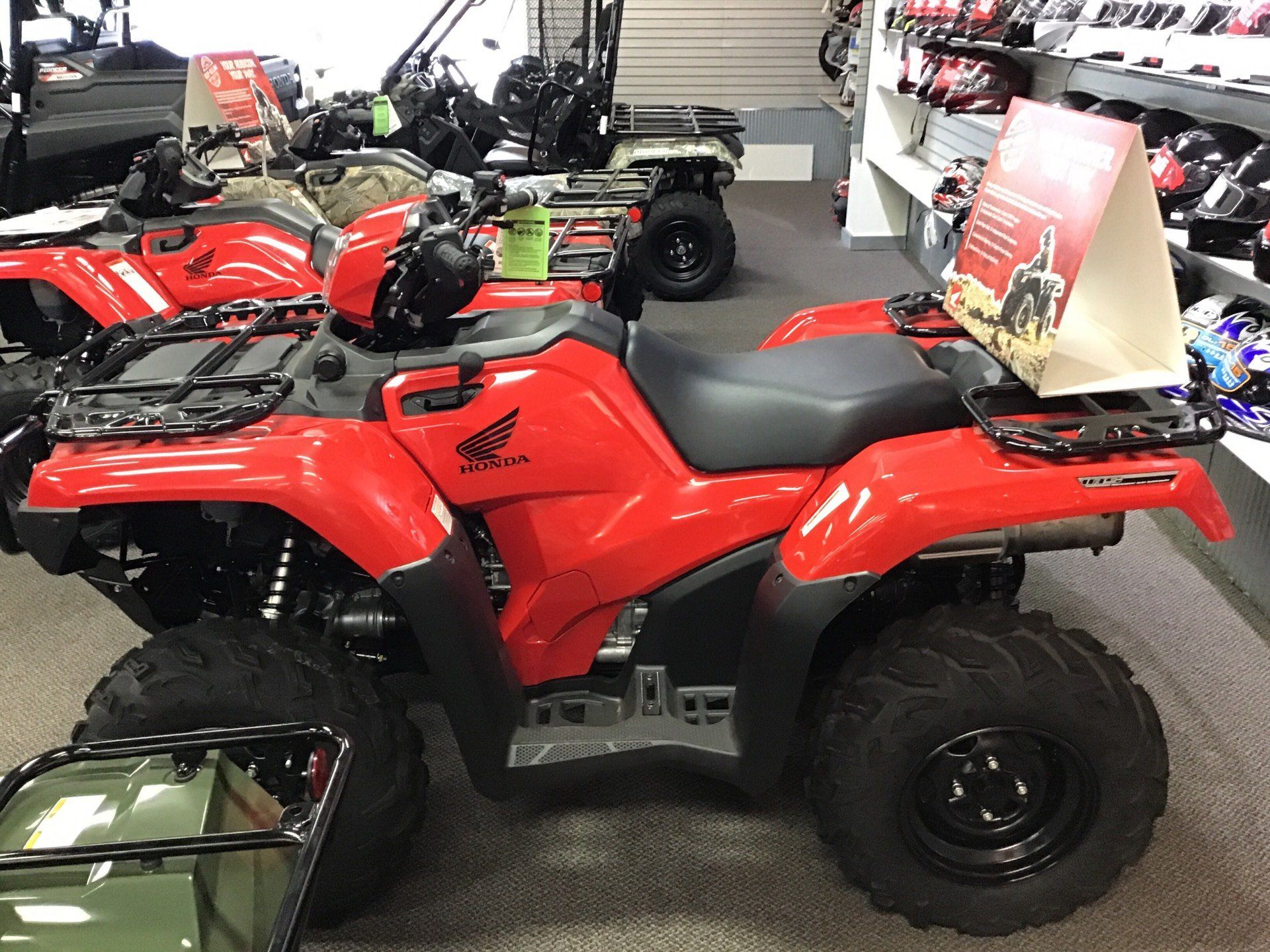 2018 Honda Foreman Rubicon TRX 500 FAGL DCT EPS in Sterling, Illinois - Photo 2