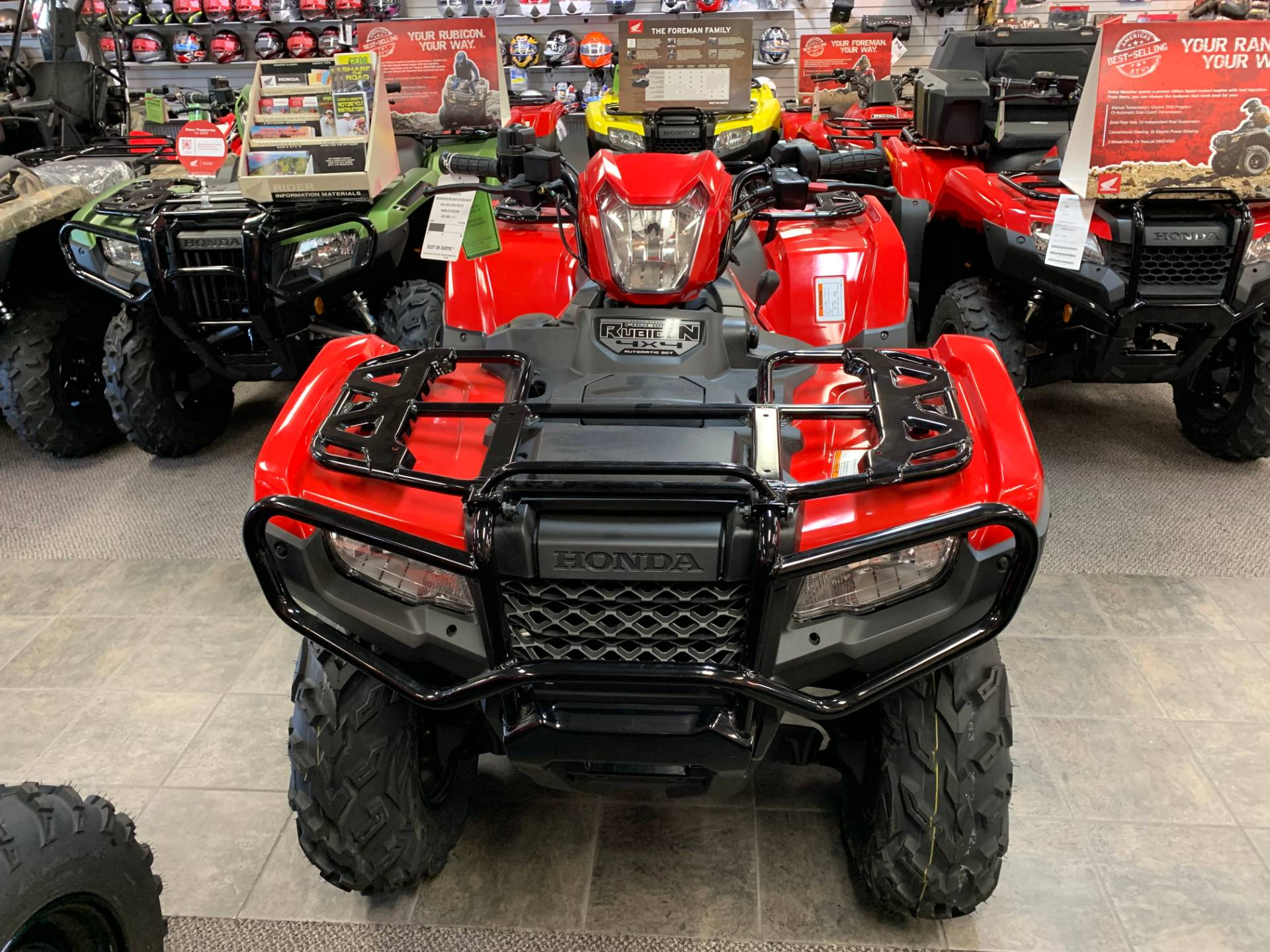 2018 Honda FourTrax Foreman Rubicon 4x4 Automatic DCT EPS in Sterling, Illinois - Photo 1