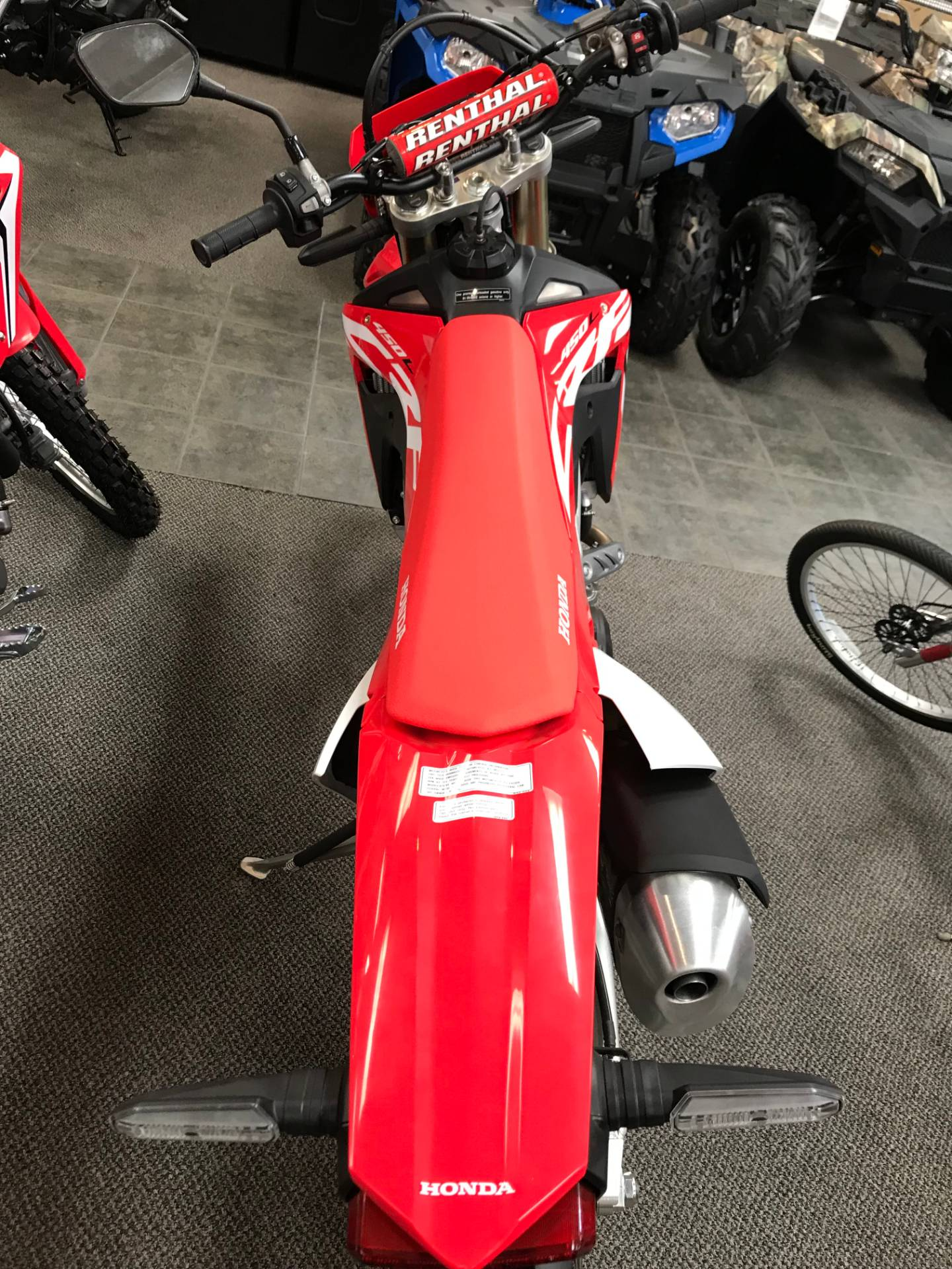 2019 Honda CRF450L in Sterling, Illinois - Photo 4