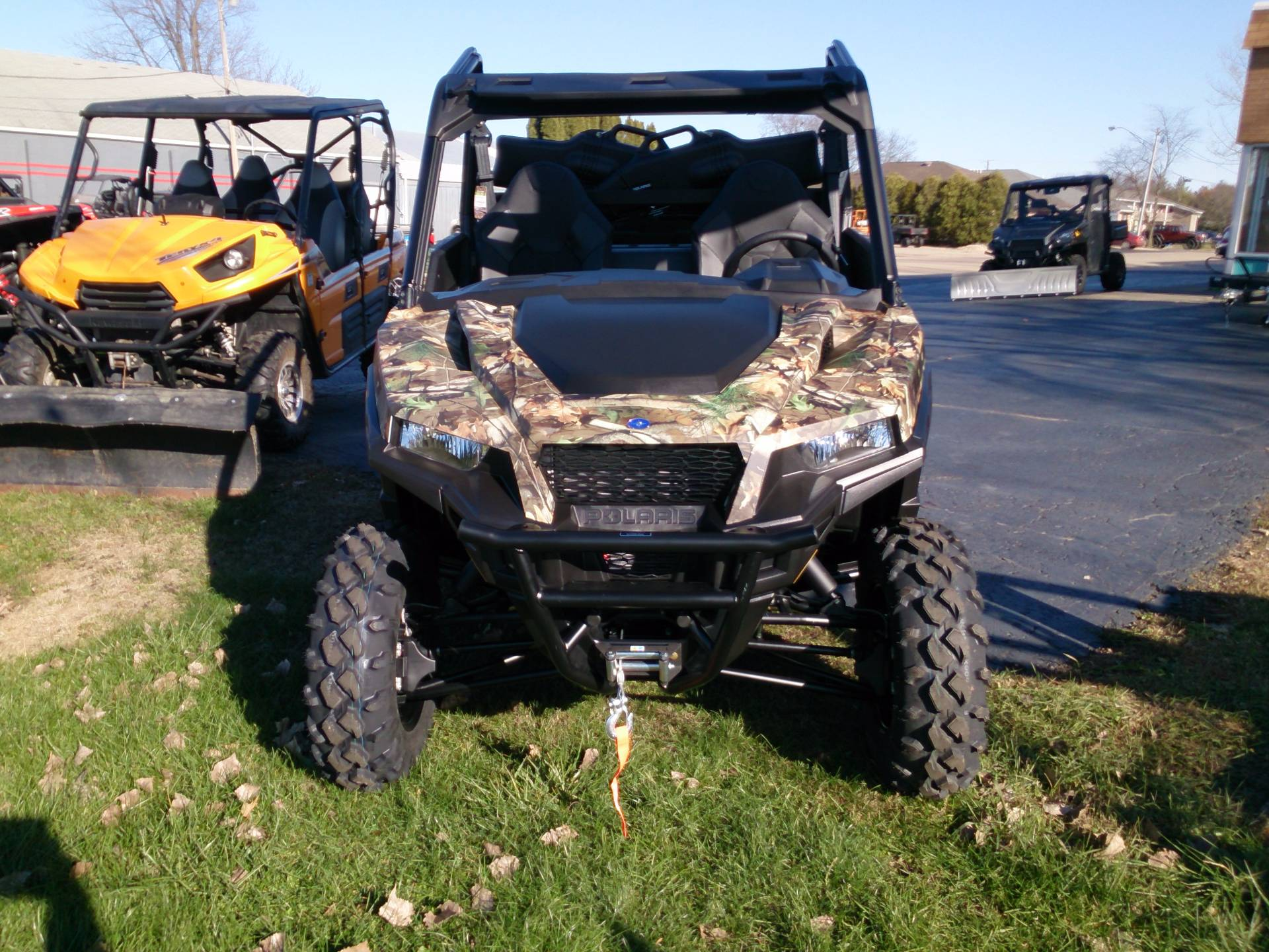 2018 Polaris General 1000 EPS Hunter Edition in Sterling, Illinois