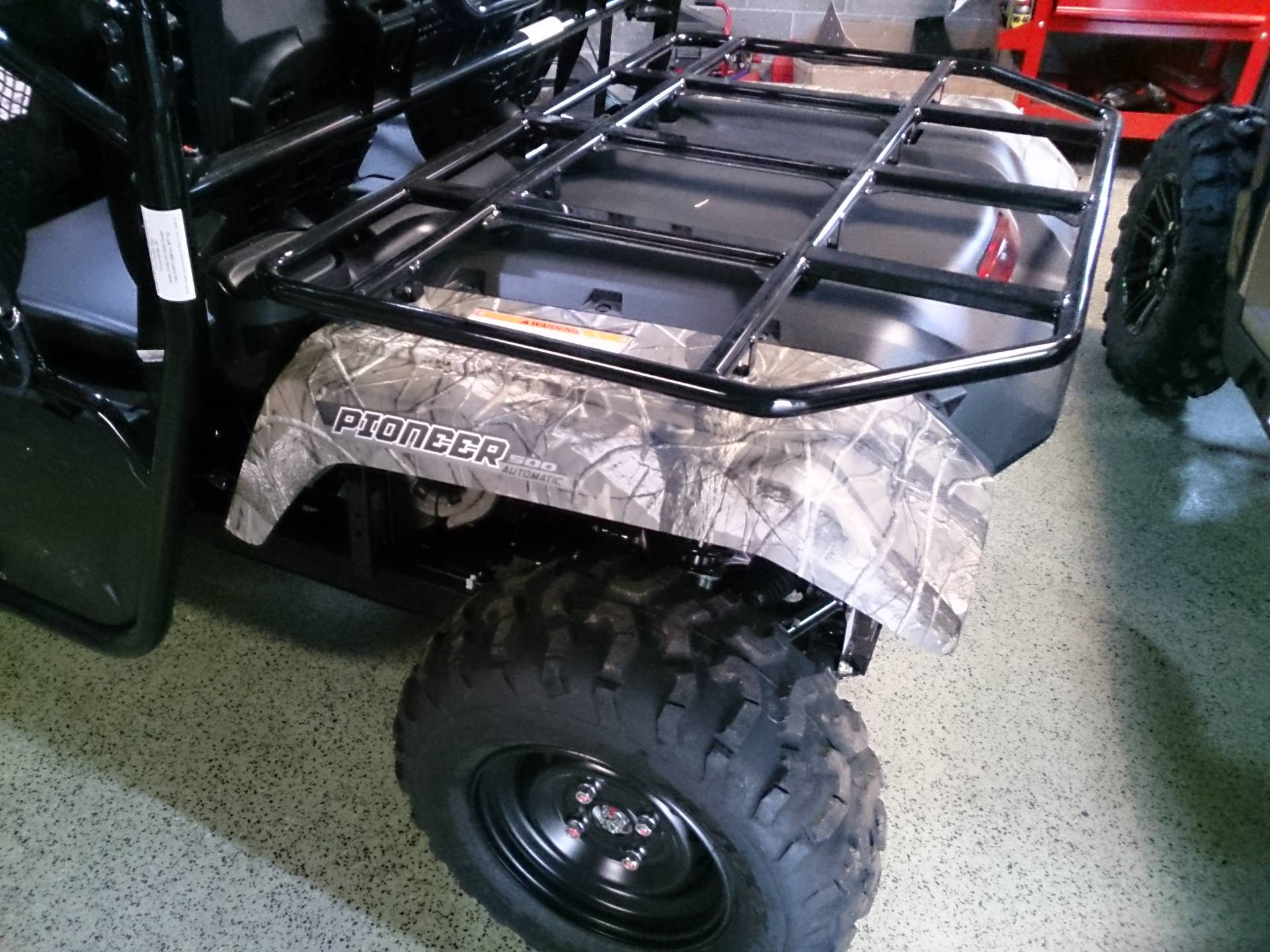 2017 Honda Pioneer 500 in Sterling, Illinois