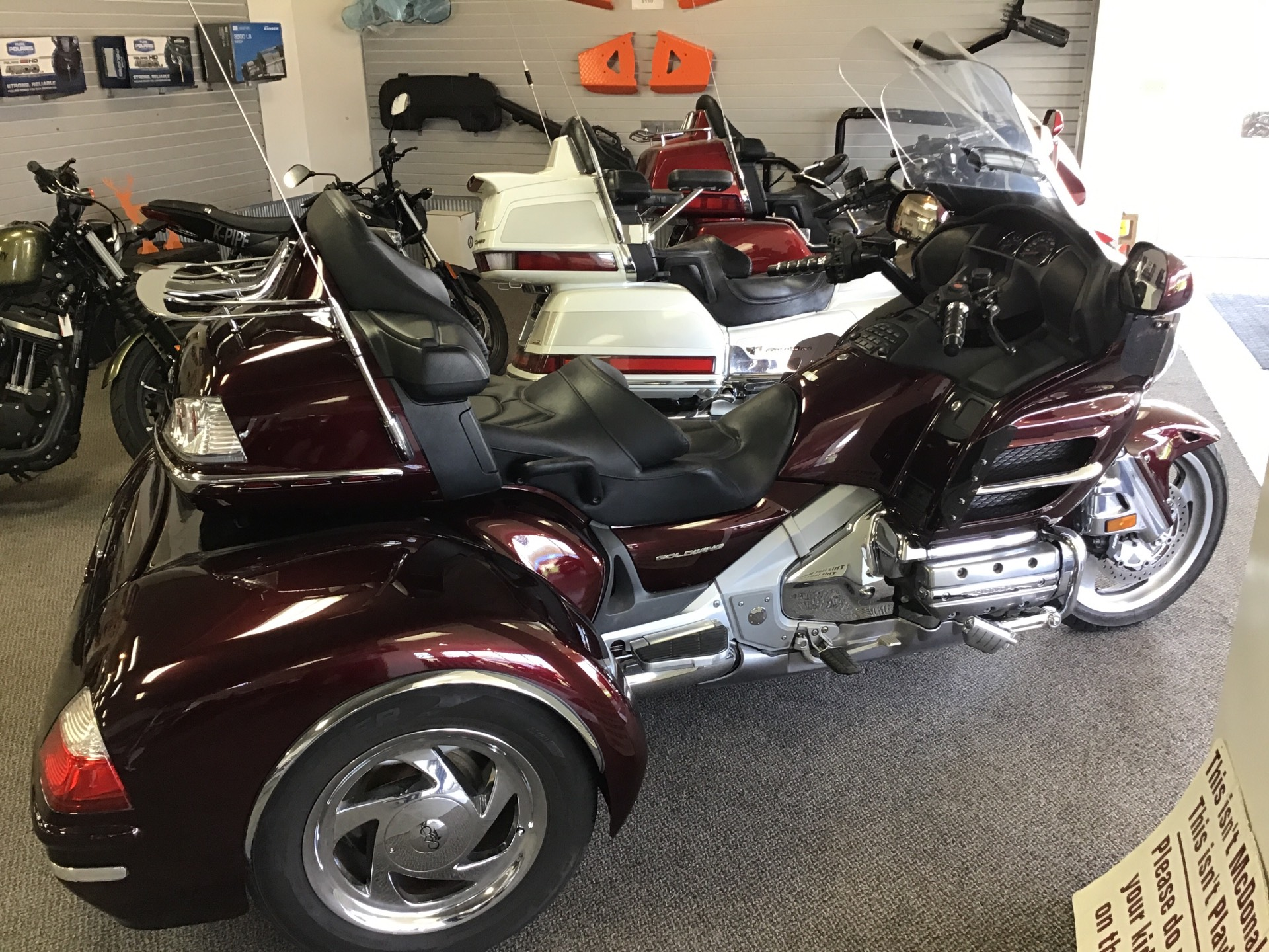 2006 Honda Goldwing Cobra XL Trike Conversion in Sterling, Illinois - Photo 2