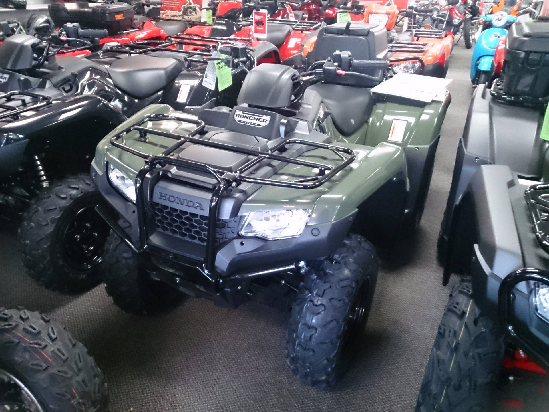 2017 Honda FourTrax Rancher 4x4 ES for sale 3866