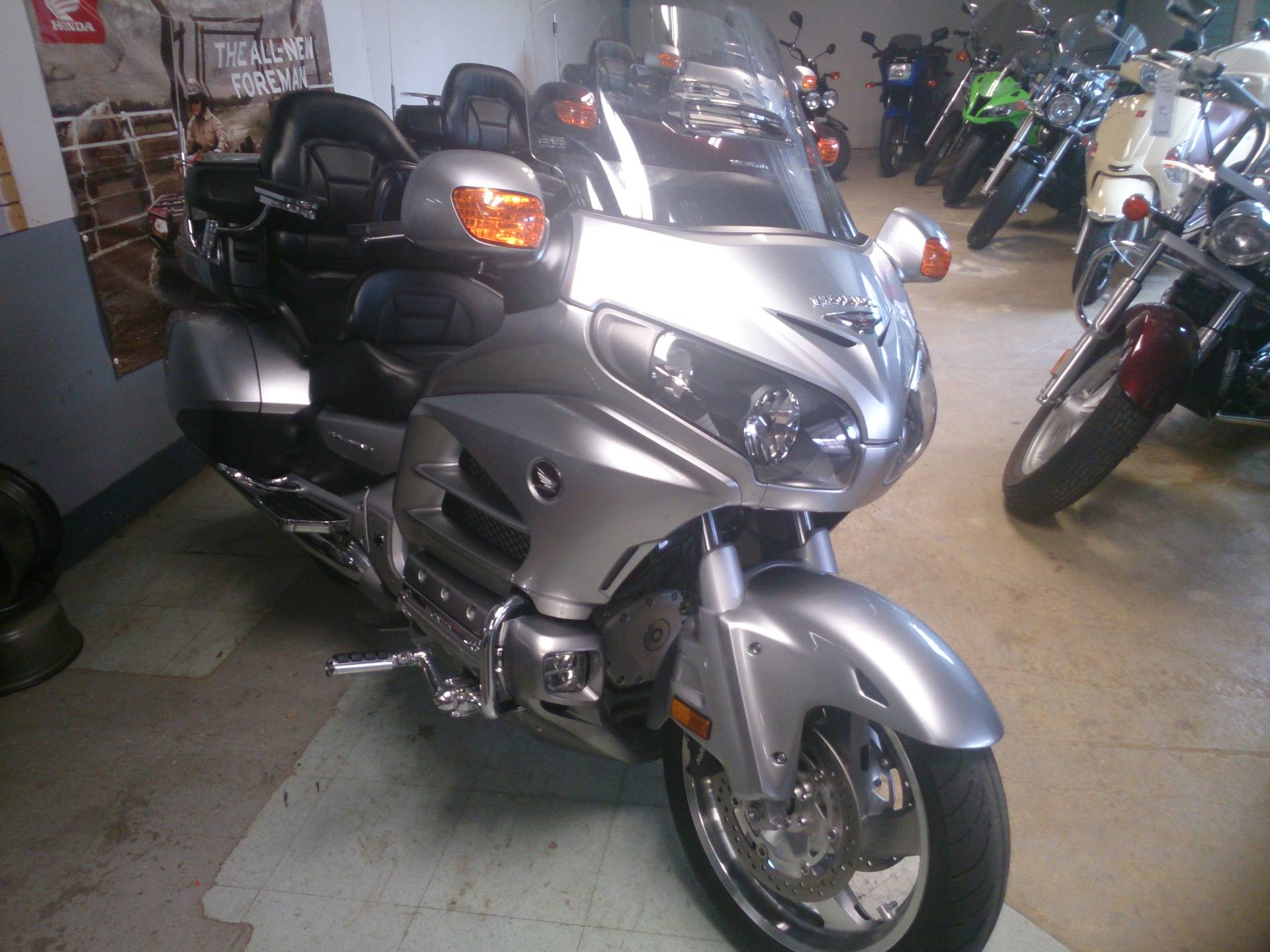 2015 Honda Gold Wing® Navi XM in Sterling, Illinois - Photo 1