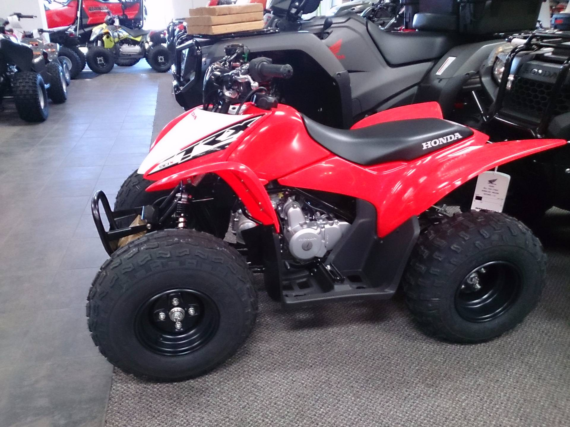 2018 Honda TRX90X in Sterling, Illinois
