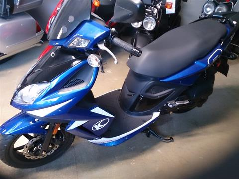2012 Kymco Super 8 50 2T in Sterling, Illinois
