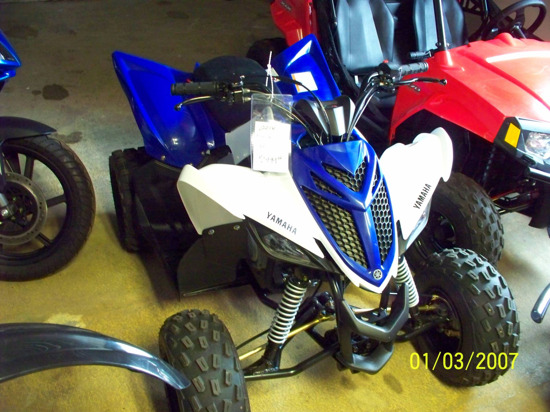 2016 Yamaha Raptor 90 for sale 25313