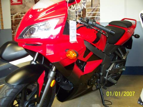 2010 Kymco Quannon 150 in Sterling, Illinois