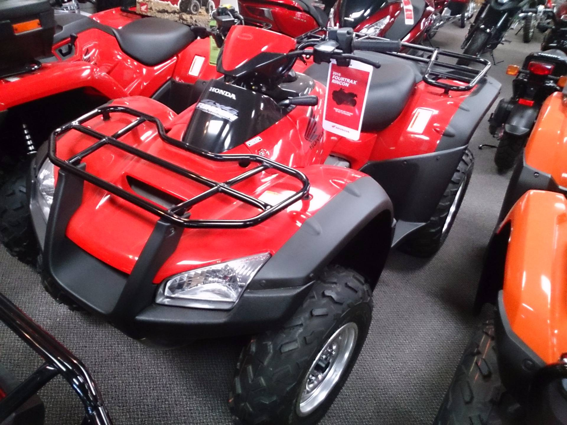 2016 Honda FourTrax Rincon for sale 4406