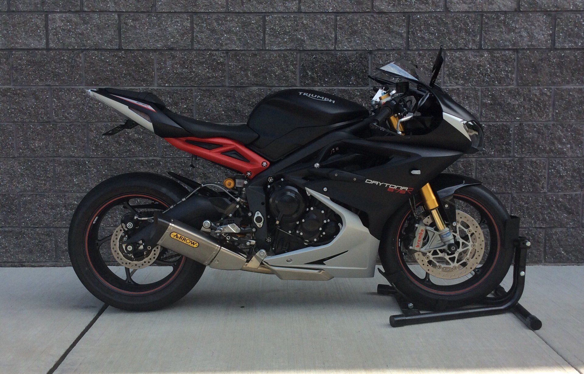 Used 2016 Triumph Daytona 675 R Abs Motorcycles In Goshen Ny