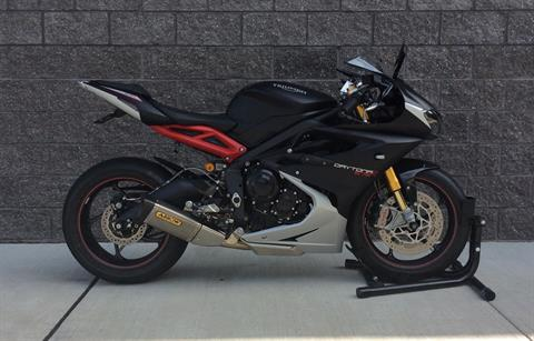 2016 Triumph Daytona 675 R ABS in Goshen, New York