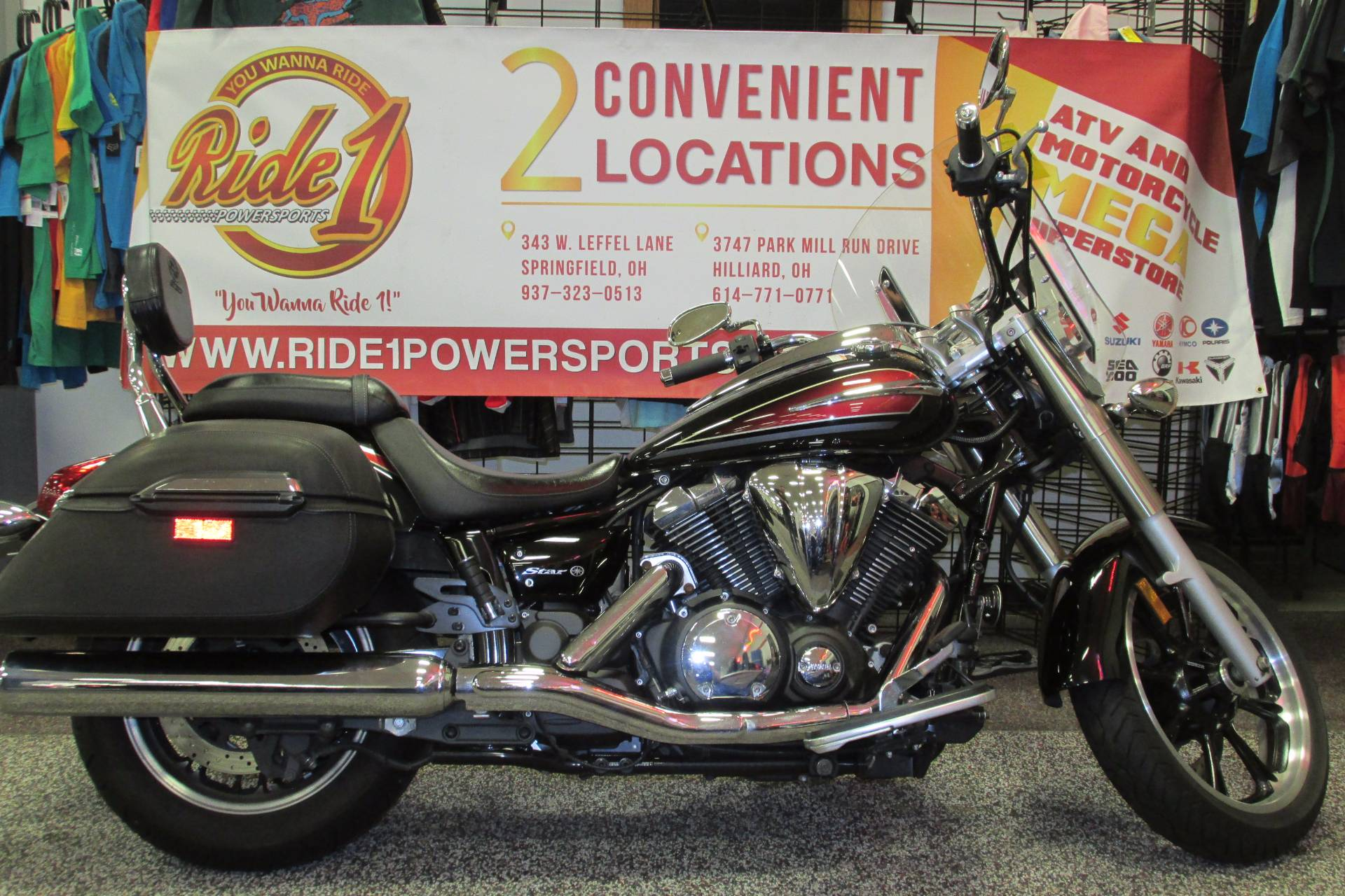 2014 Yamaha V-STAR 950 Tourer in Springfield, Ohio