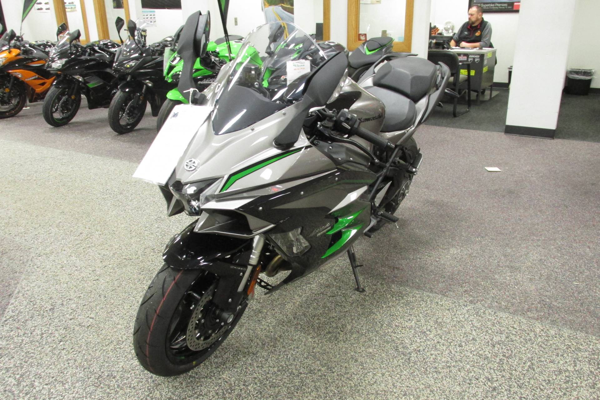 2019 Kawasaki NINJA H2 SX S.E. in Springfield, Ohio - Photo 4