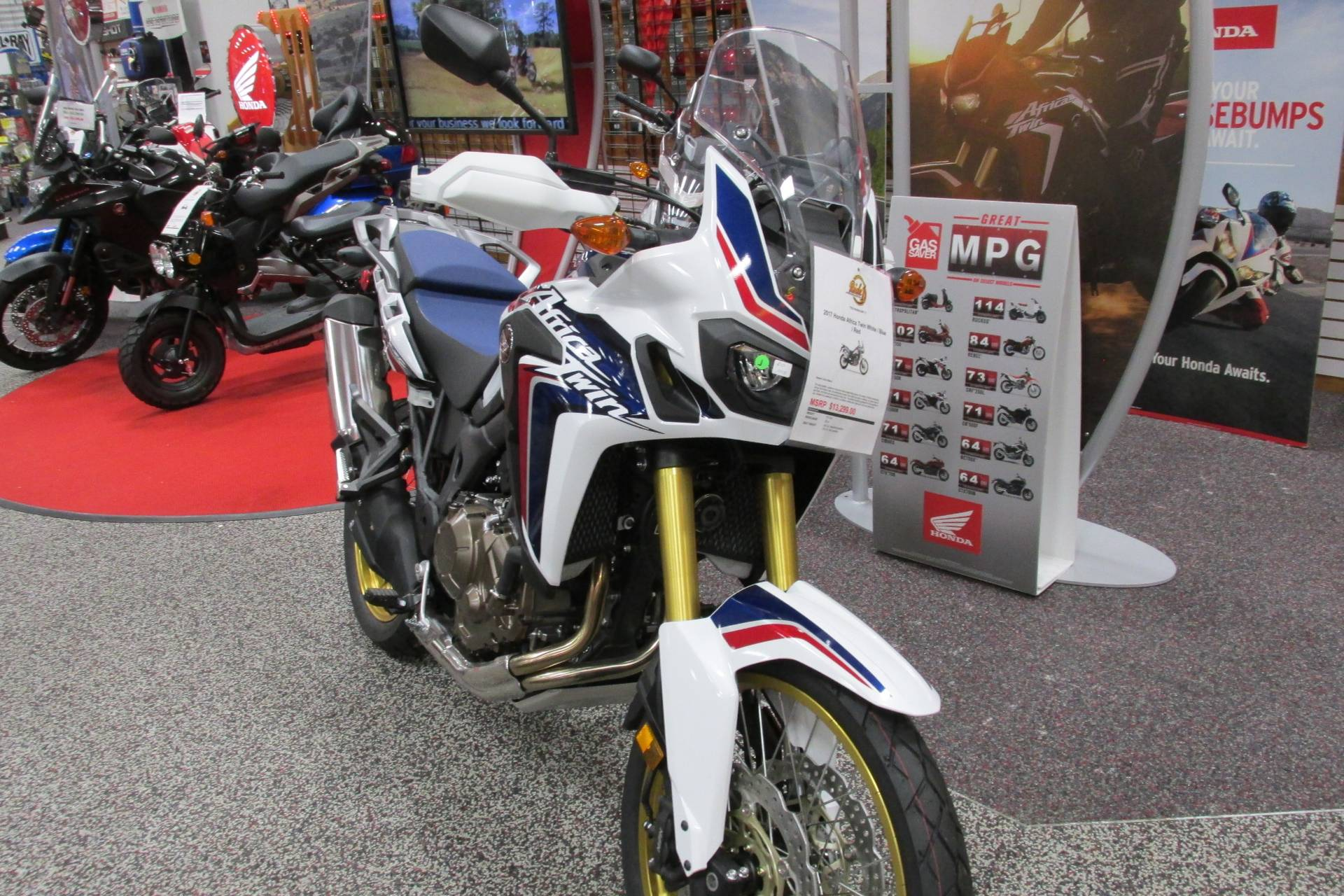 2017 Honda AFRICA TWIN in Springfield, Ohio