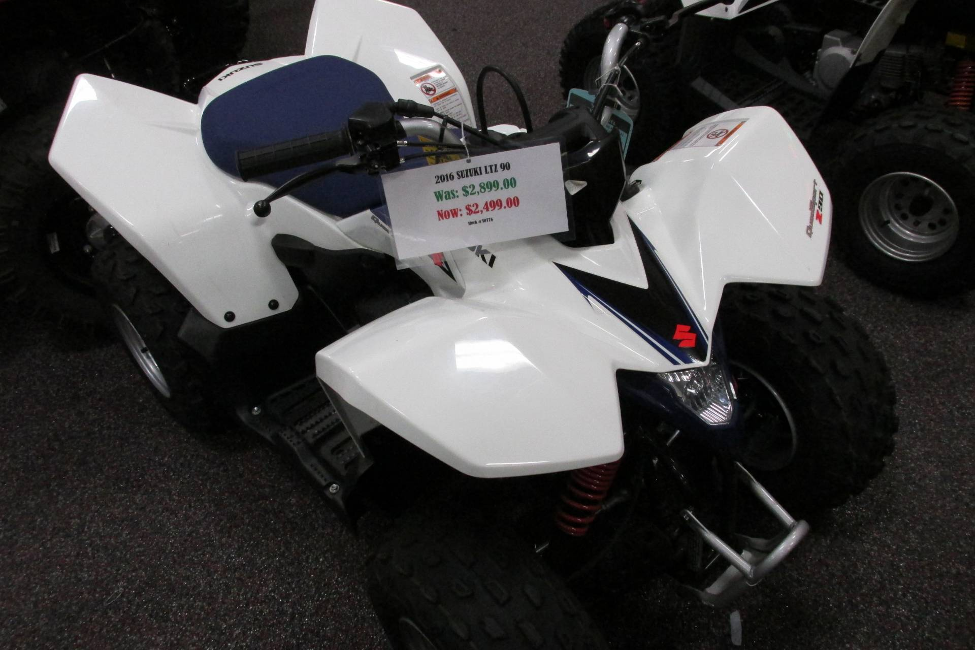 2016 Suzuki LTZ90 in Springfield, Ohio