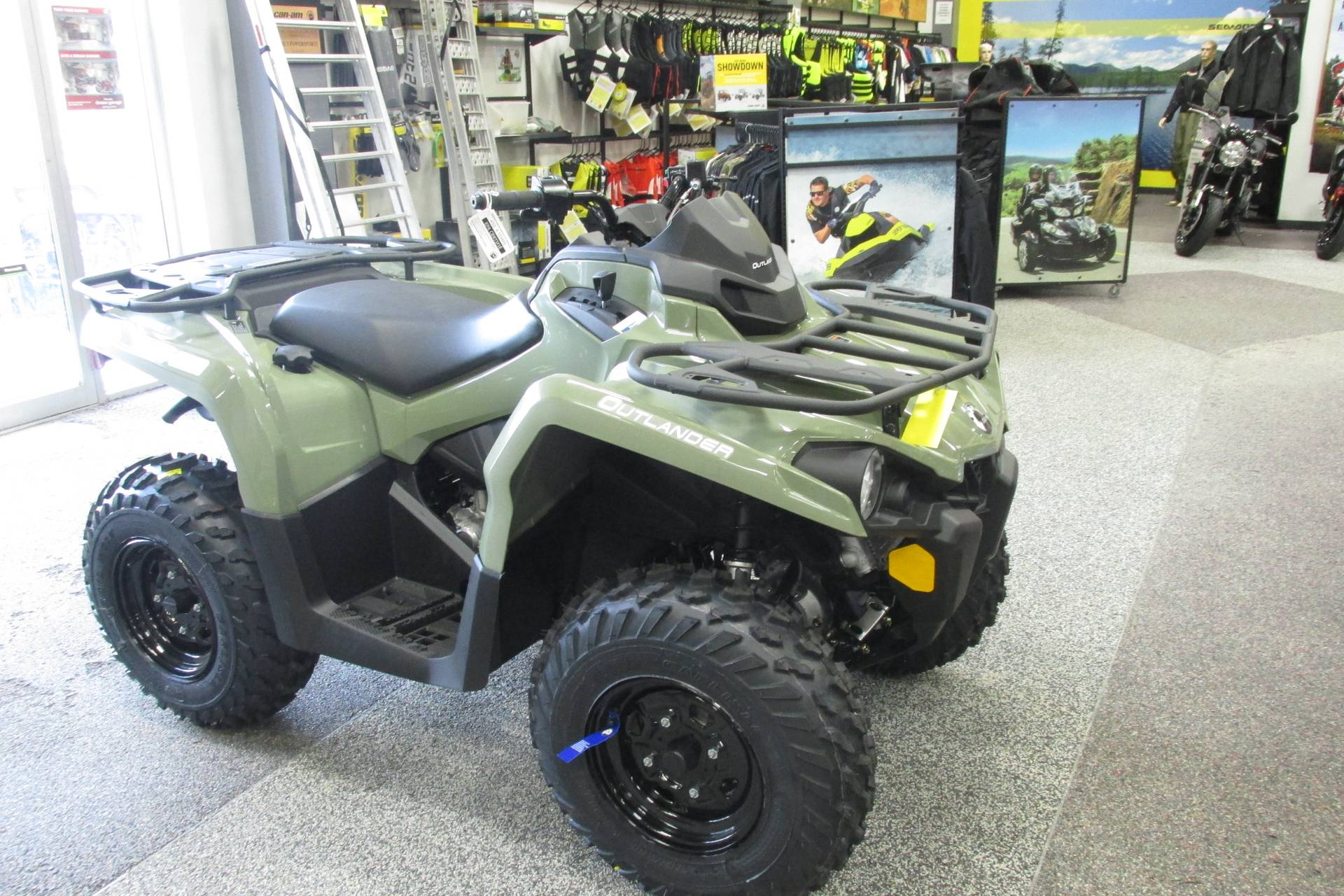 2019 Can-Am OUTLANDER 450 POWER STEERING in Springfield, Ohio - Photo 3