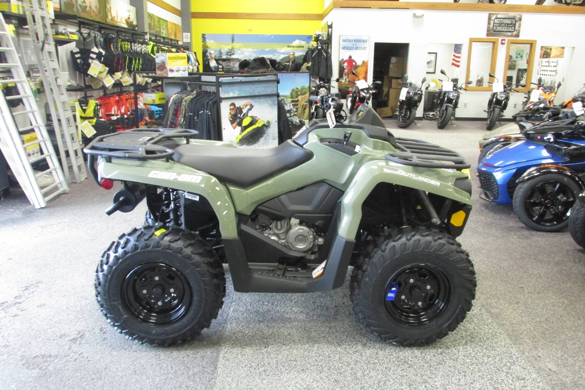 2019 Can-Am OUTLANDER 450 POWER STEERING in Springfield, Ohio - Photo 4