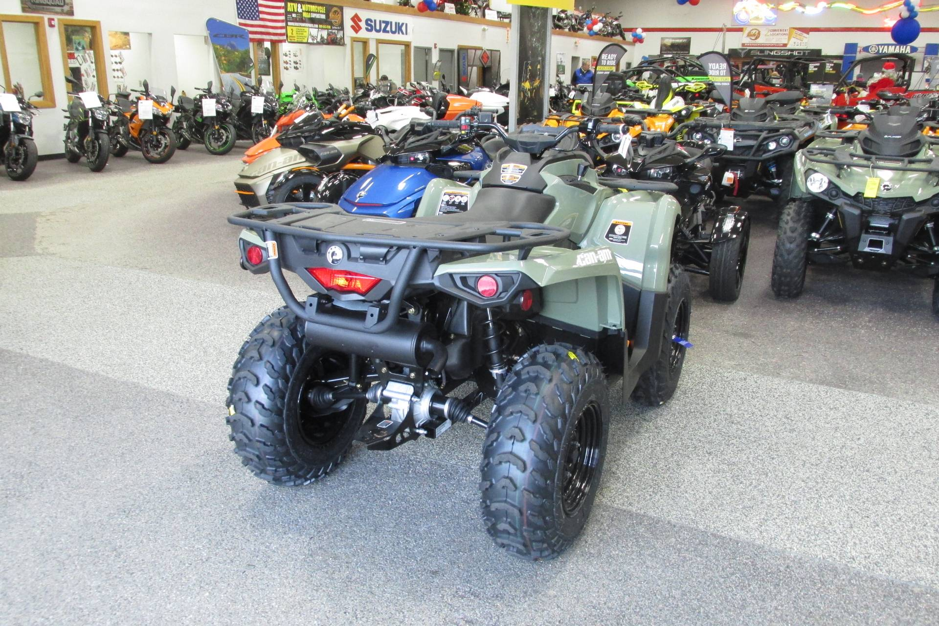 2019 Can-Am OUTLANDER 450 POWER STEERING in Springfield, Ohio - Photo 5