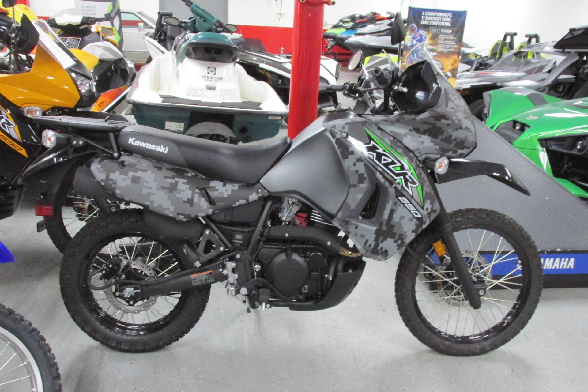 2018 Kawasaki KLR 650 in Springfield, Ohio - Photo 1