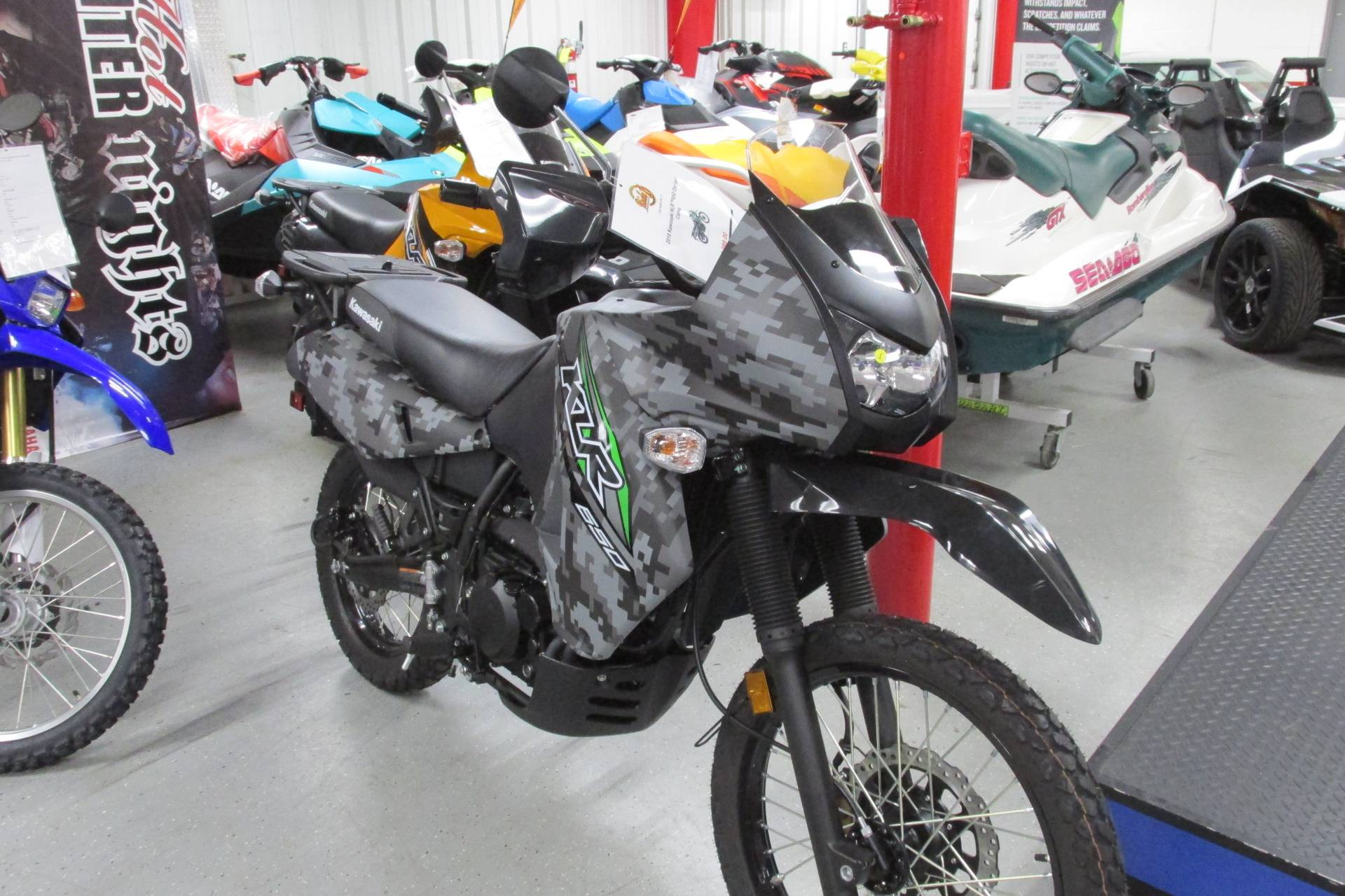 2018 Kawasaki KLR 650 in Springfield, Ohio - Photo 2