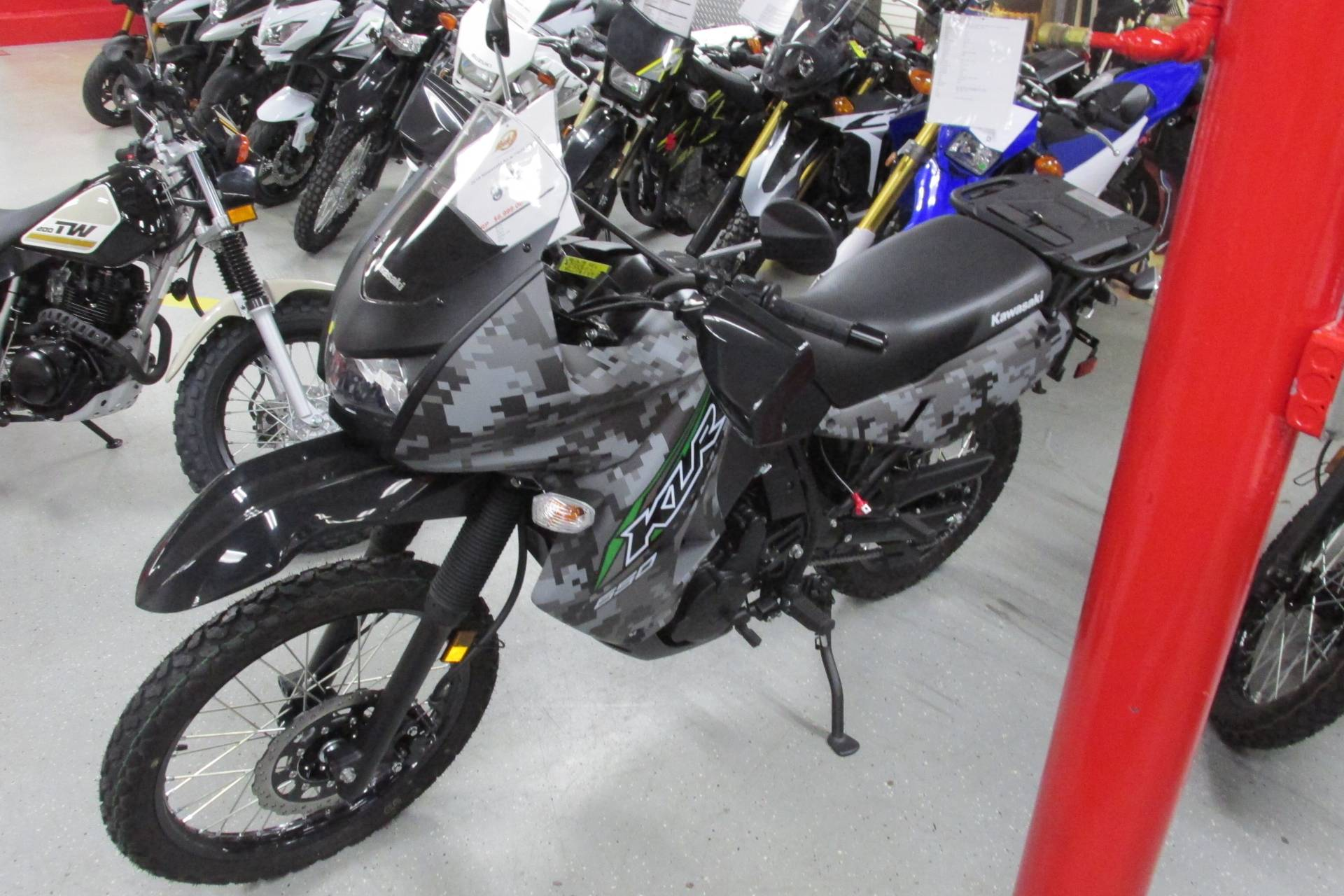 2018 Kawasaki KLR 650 in Springfield, Ohio - Photo 3
