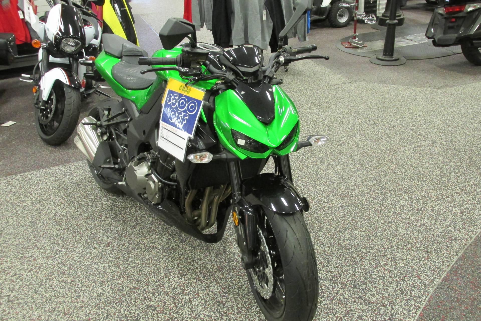 2015 Kawasaki Z1000 ABS in Springfield, Ohio