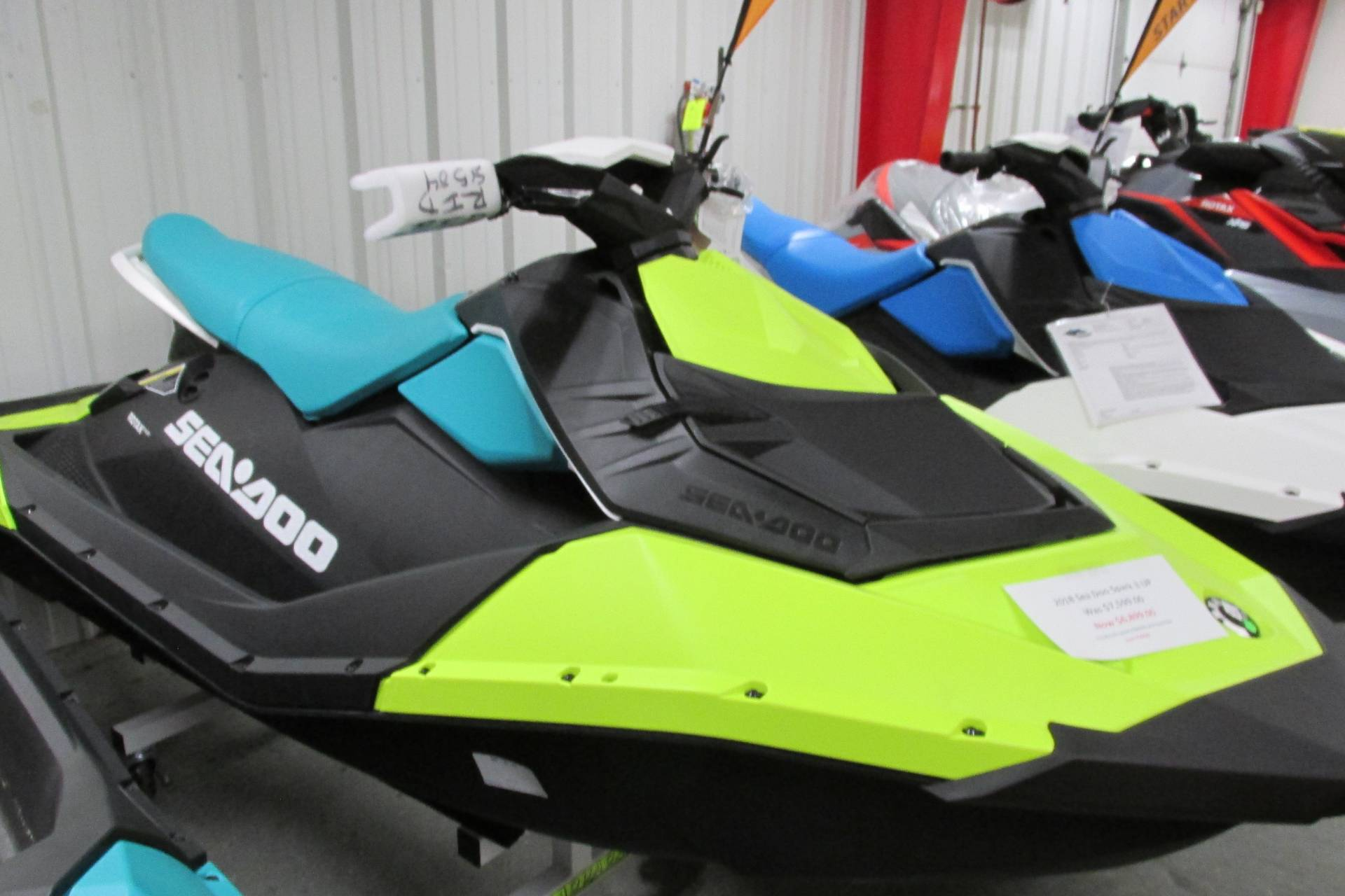 2018 Sea-Doo SPARK 3 UP IBR AND CONV. in Springfield, Ohio - Photo 1