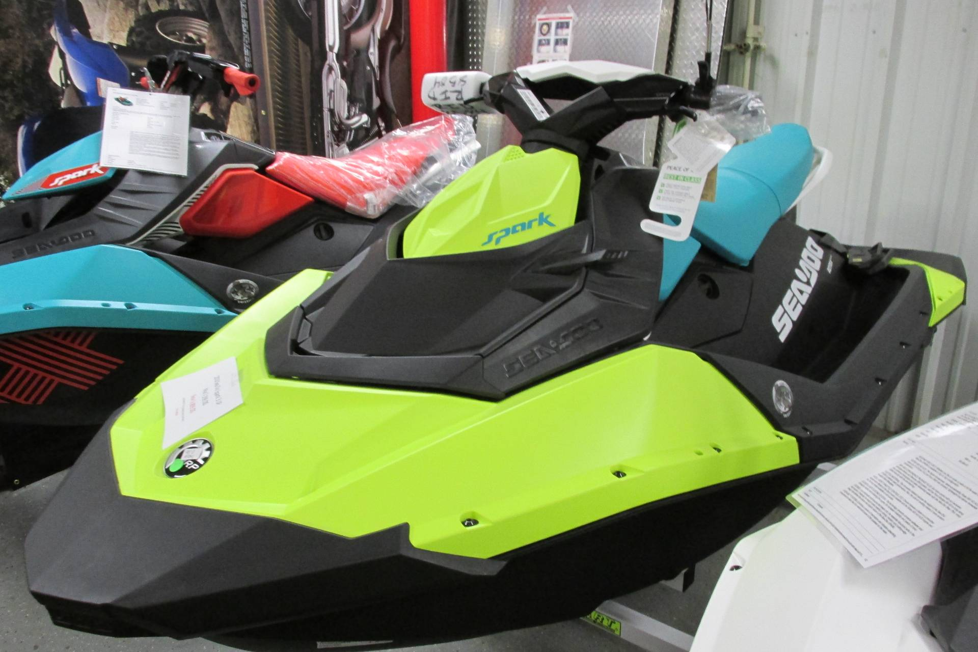 2018 Sea-Doo SPARK 3 UP IBR AND CONV. in Springfield, Ohio - Photo 2