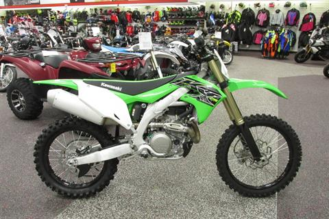 2019 Kawasaki KX450R in Springfield, Ohio - Photo 1
