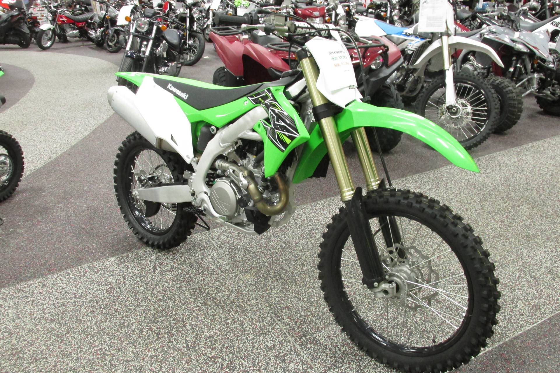 2019 Kawasaki KX450R in Springfield, Ohio - Photo 2