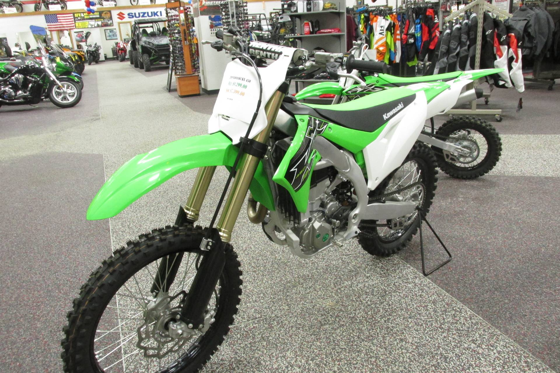 2019 Kawasaki KX450R in Springfield, Ohio - Photo 4