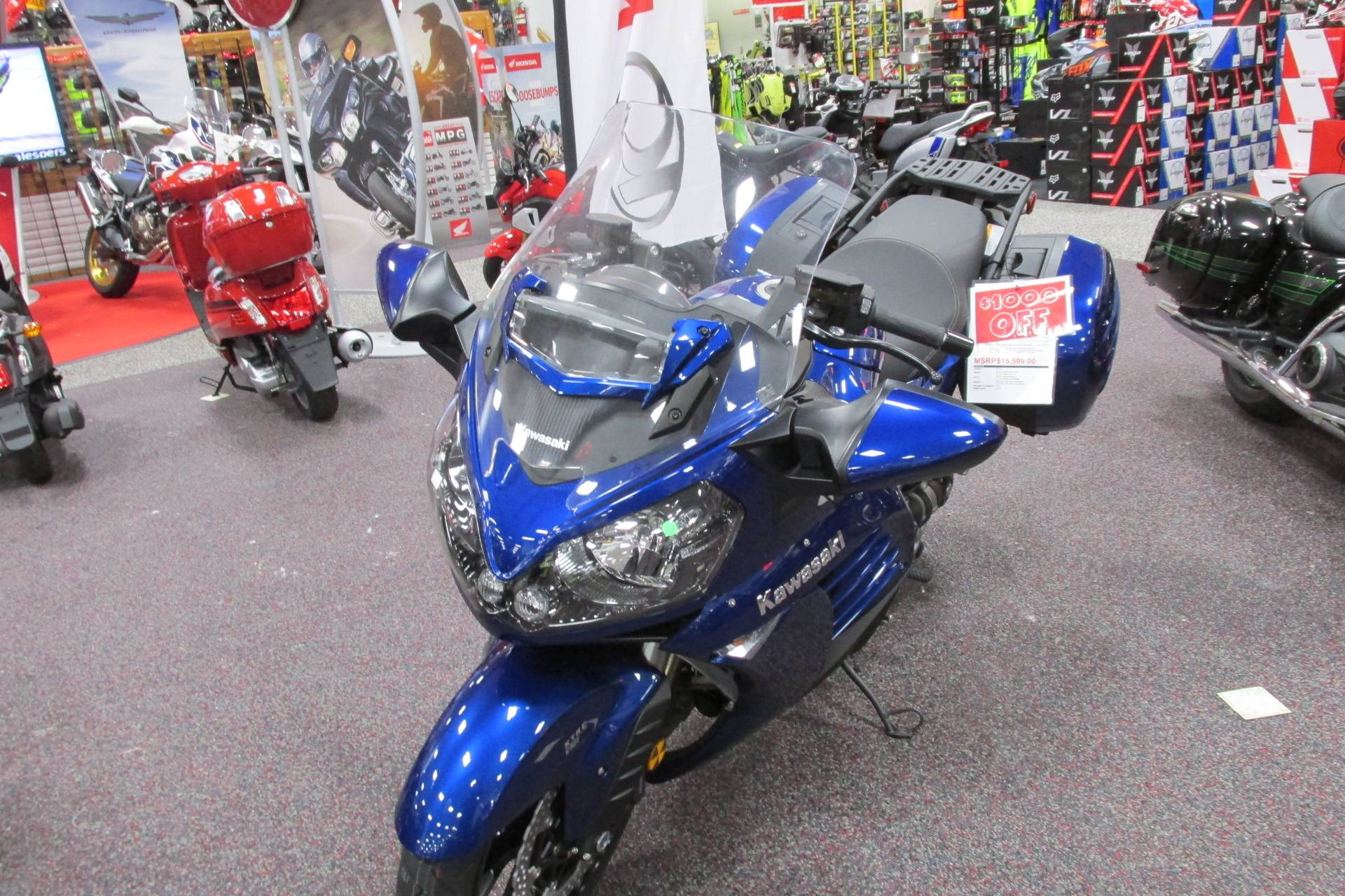 2017 Kawasaki CONCOURSE 1400 in Springfield, Ohio