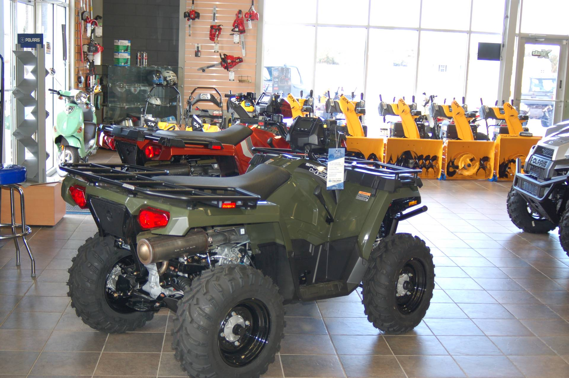 2020 Polaris Sportsman 450 H.O. Utility Package in Sturgeon Bay, Wisconsin - Photo 1