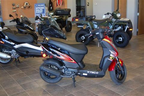 2014 Kymco Agility 125 in Sturgeon Bay, Wisconsin