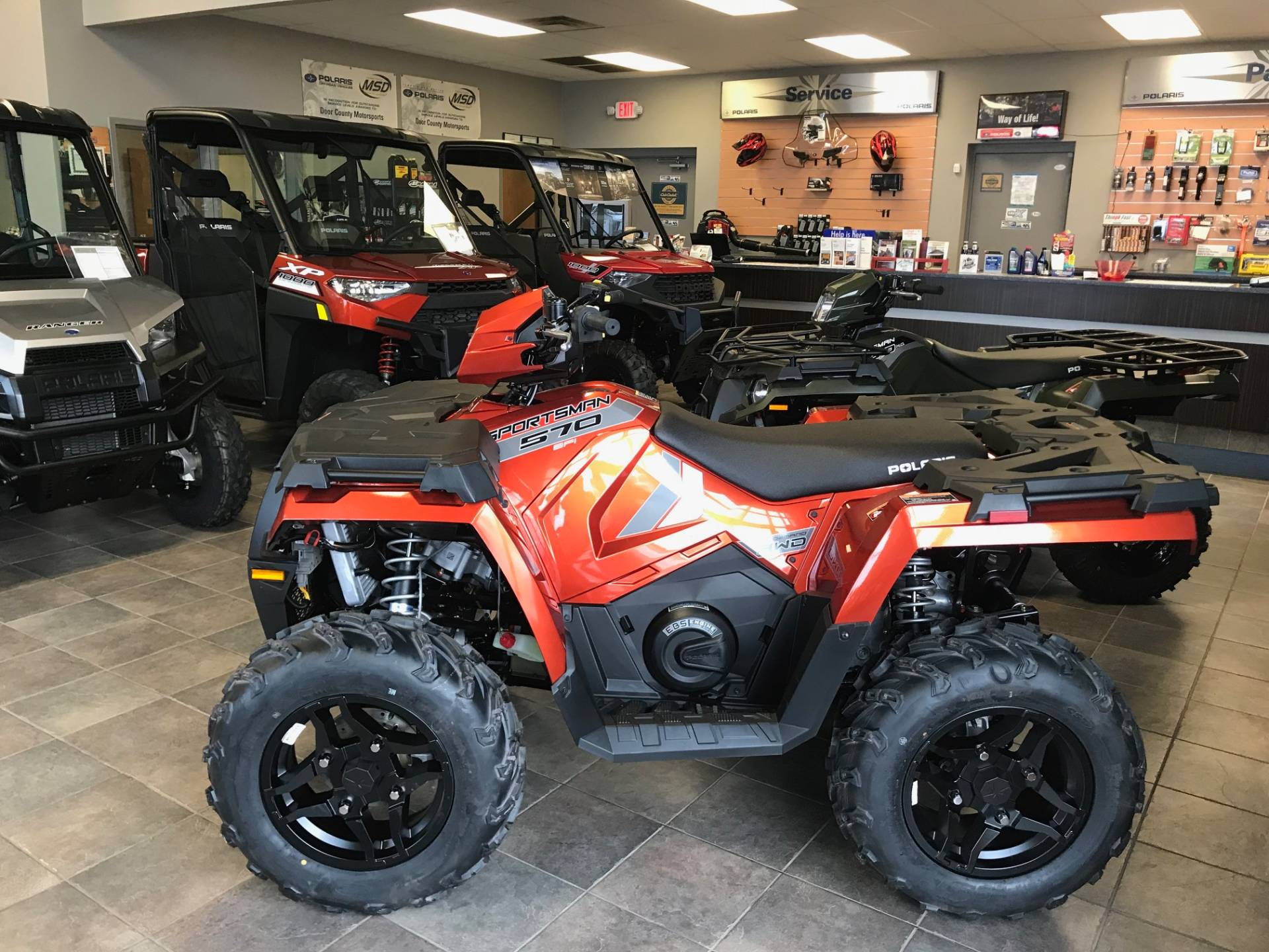 2020 Polaris Sportsman 570 Premium in Sturgeon Bay, Wisconsin - Photo 1