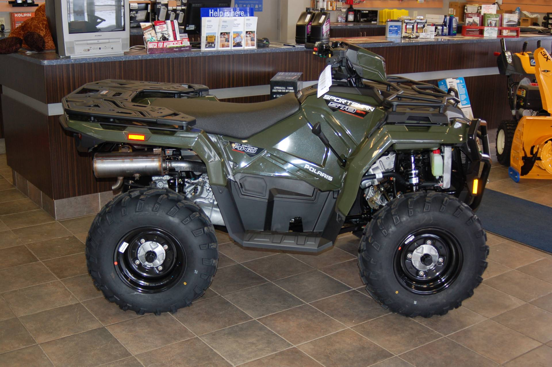 2021 Polaris Sportsman 570 EPS Utility Package in Sturgeon Bay, Wisconsin - Photo 1