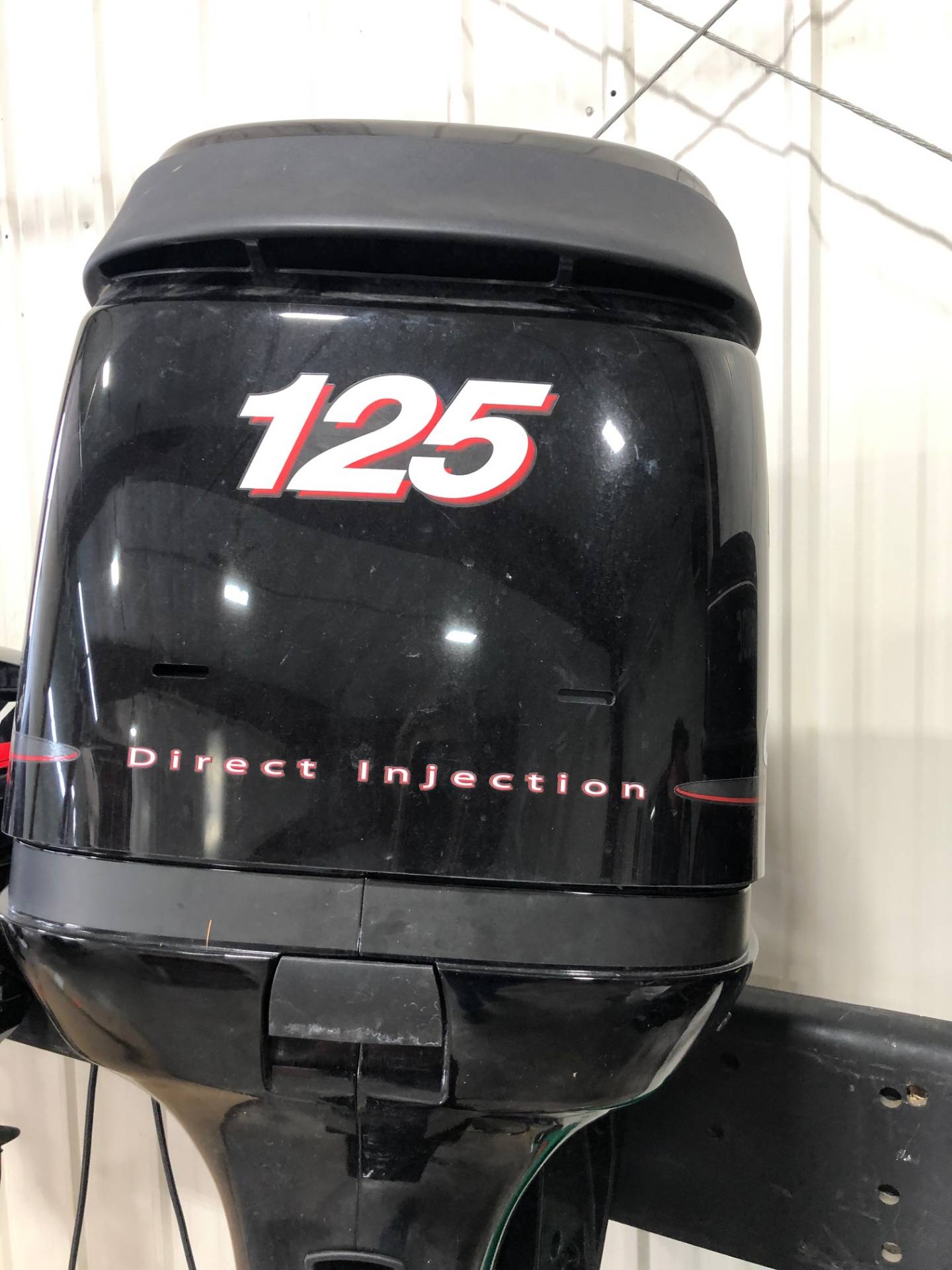 Used Mercury Optimax 125xl Boat Engines In Trego Wi N A Black