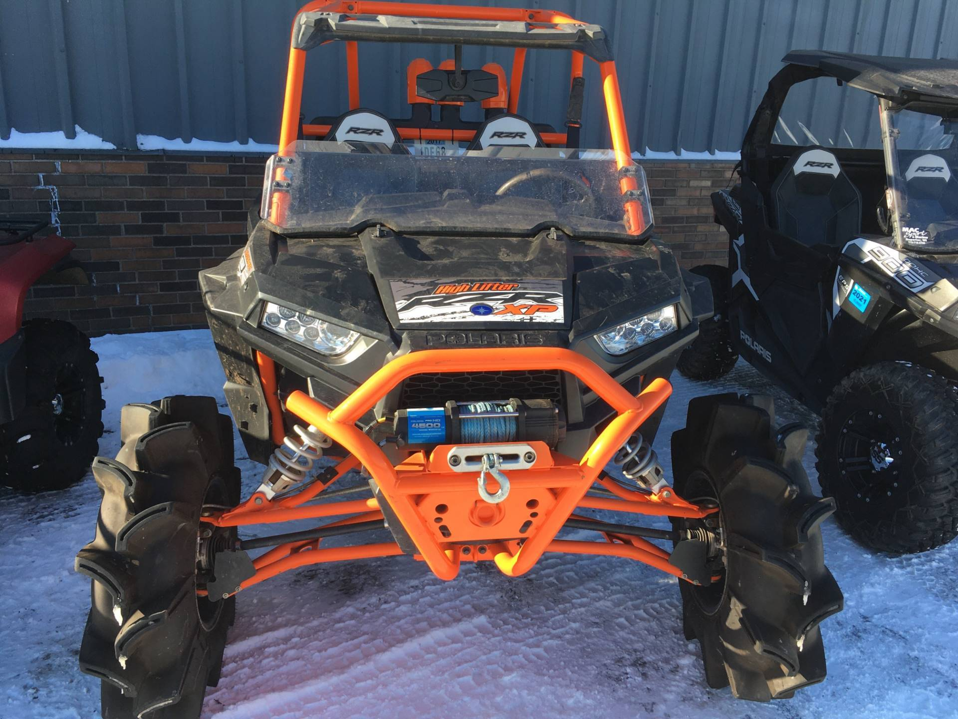 2015 Polaris 2015 POLARIS RZR® XP 1000 EPS HIGH LIFTER EDITION in Trego, Wisconsin - Photo 1