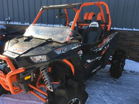 2015 Polaris 2015 POLARIS RZR® XP 1000 EPS HIGH LIFTER EDITION in Trego, Wisconsin - Photo 3