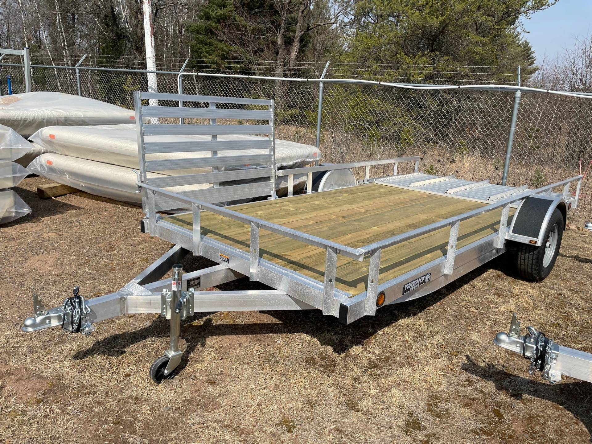 2021 Trophy Trailers 7 X 14 SL TI in Trego, Wisconsin