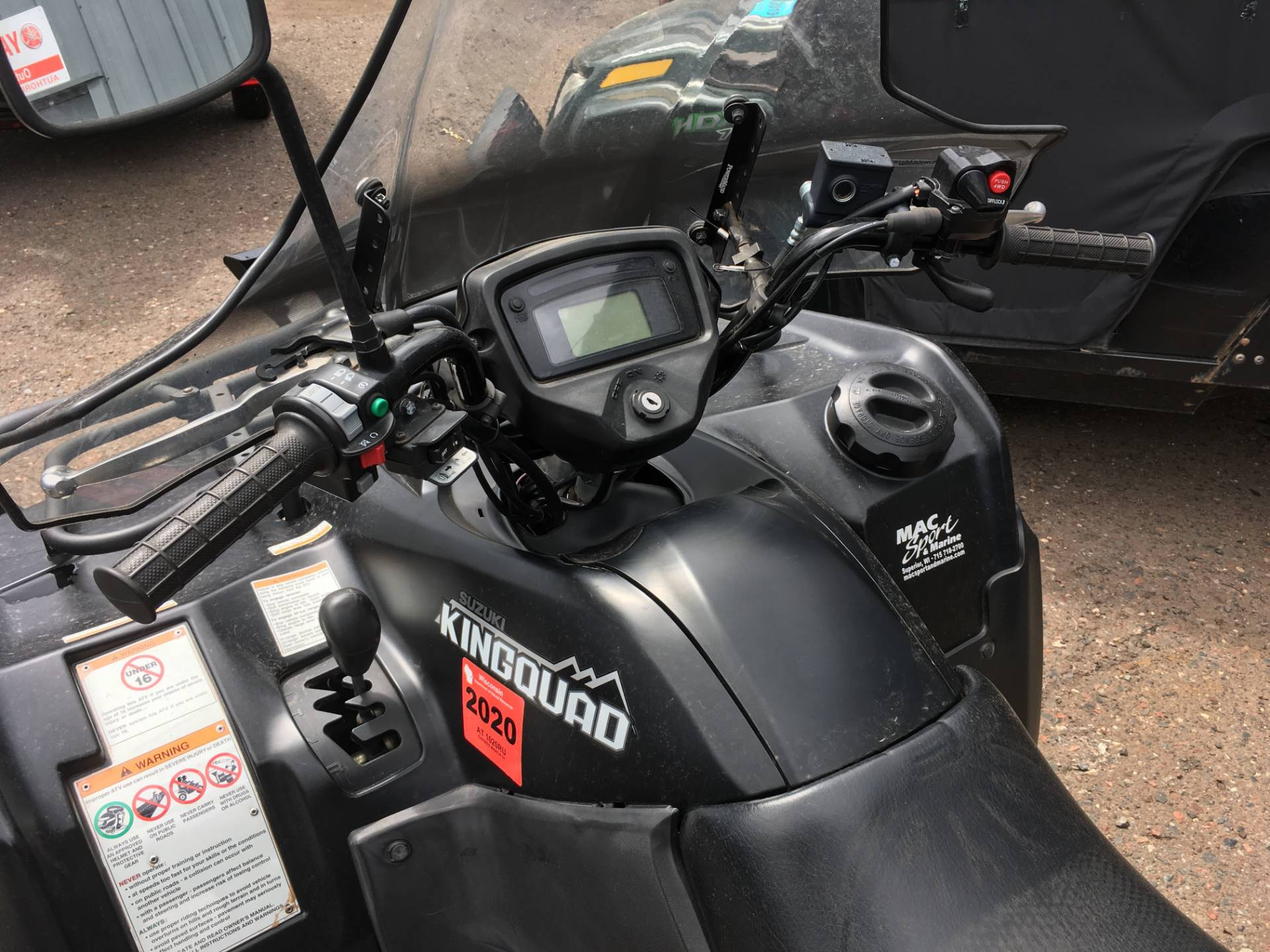 Used 2016 Suzuki Kingquad 500axi Power Steering Special Edition Atvs Extra Fan Carry In Superior Wisconsin