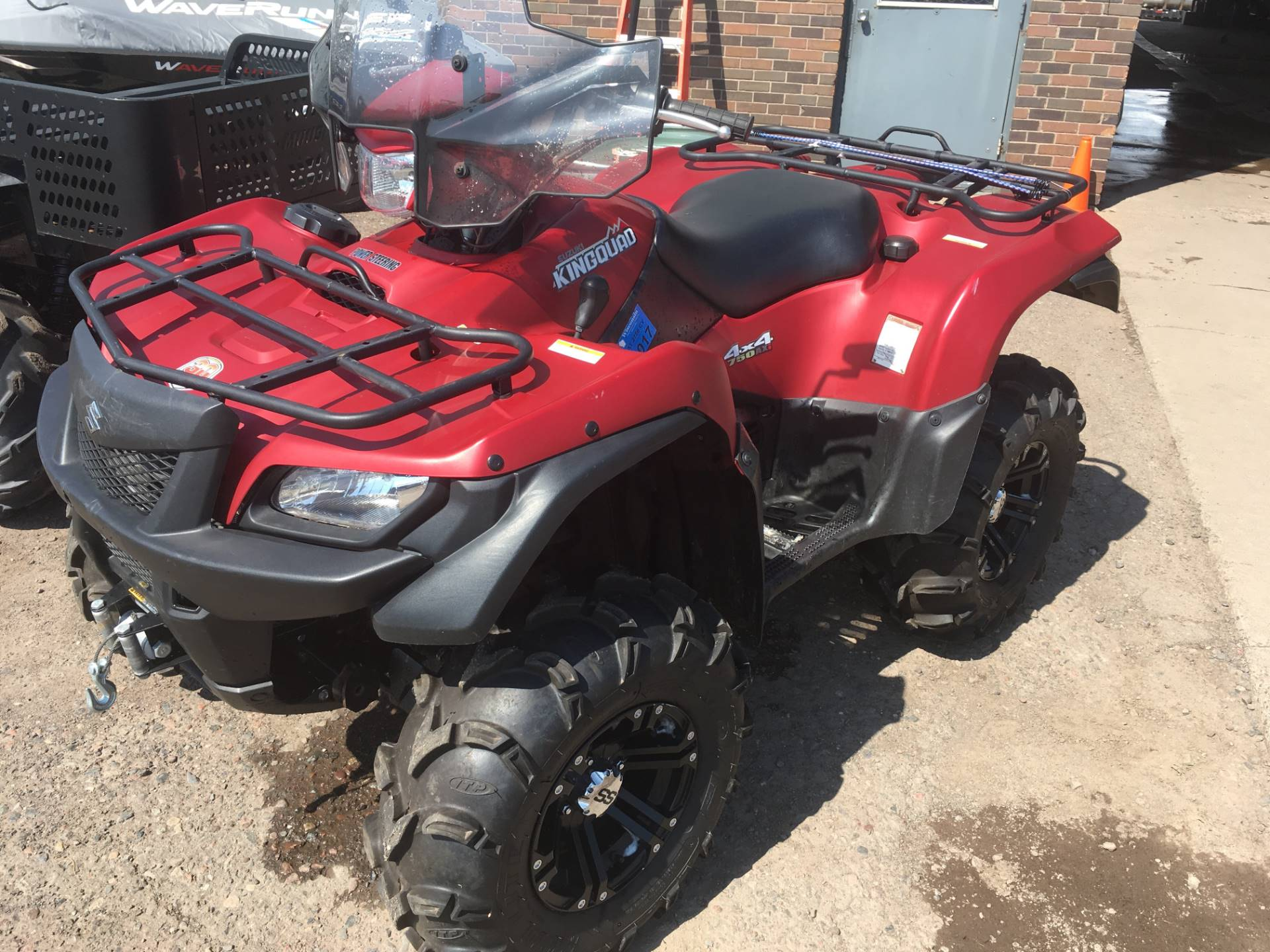 2013 Suzuki KingQuad® 750AXi Power Steering 30th Anniversary Edition in Superior, Wisconsin - Photo 1